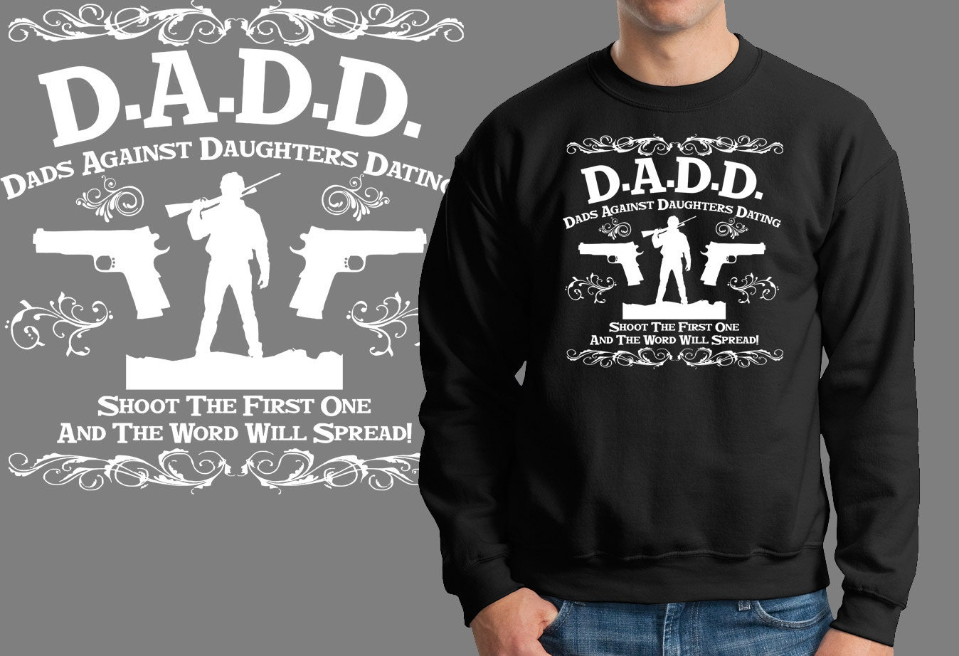 Dads against daughters dating hoodie
