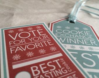 Cookie Exchange Voting + Awards