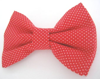 Dog Bow Tie Small Medium Large Red Dog Bowtie