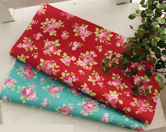 Waterproof Fabric Rose in 2 Colors By The Yard