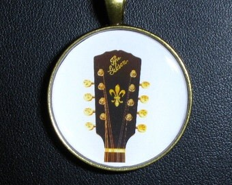 A-4  Mandolin  Peghead  Necklace / Pendant