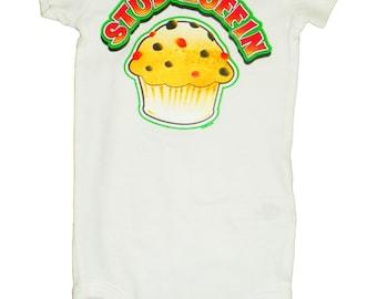 Stud Muffin Onesie or Toddler T-Shirt