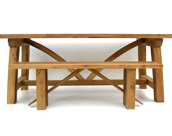 Contemporary Sustainable Oak Refectory Table