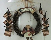 Welcome to my America Wreath!