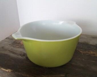 Pyrex Baking Dish, 1 Quart Casserole Baking Dish , Avocado Green, Pyrex 473, Without Lid