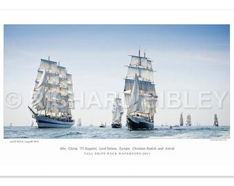 Sailing Ships, Tall Ships Race Waterford 2011