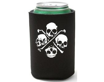 Drink Cozy - 4 Skull