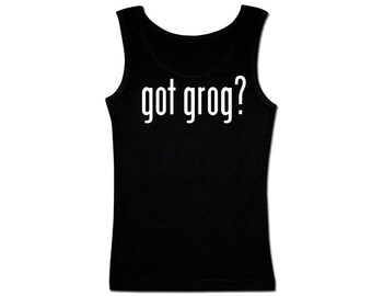 Men's Pirate Tank Top - Got Grog?