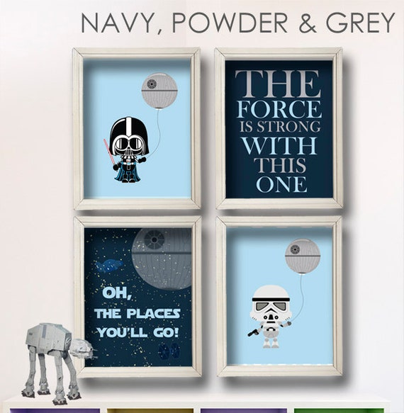 Popular Items For Nursery Decor On Etsy Baby Shower: Items Similar To Baby Boy Star Wars Nursery Art- Oh, The