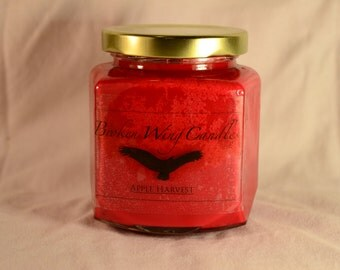 Apple Harvest Soy Wax Candle, 8 oz.