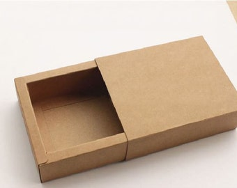 20 pcs of Kraft paper drawer little gift box