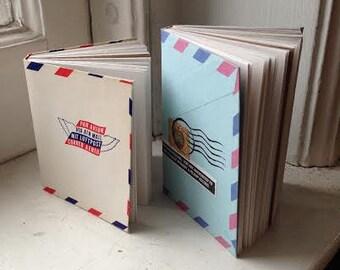 Vintage Envelope Travel Journals