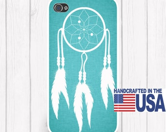 Dream Catcher Personalized Phone Case Choice of Color Background  iPhone 5 iPhone 5S iPhone 5C iPod Samsung iPhone 4/4S iPhone 6 iPhone6