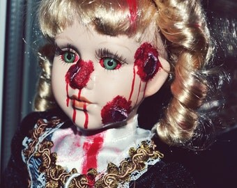 Bullet Wound Zombie Doll