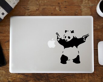 Banksy Panda MacBook Decal