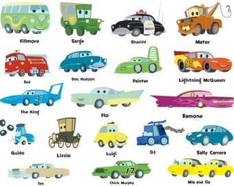 Cartoon Car Names