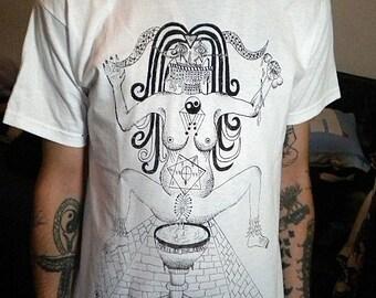 T-shirt babalon thelema crowley magick occultism esoterism mysticism kabbalah