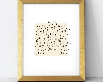 Spots Print - 8x10 wall art