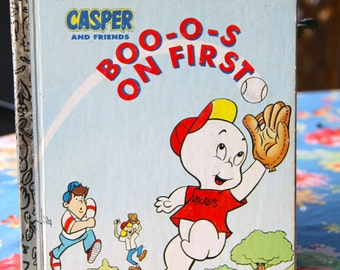 Vintage Little Golden Book Boo-o-s on First Casper and Friends 1992 Hard Cover