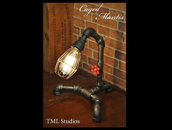 plomberie industrielle tuyau edison luminaire lampe de bureau. Black Bedroom Furniture Sets. Home Design Ideas