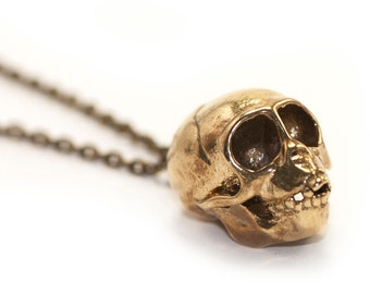 Monkey Jewelry Spider Monkey Skull Pendant 3D Printed Skull Jewelry