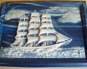 Clipper Ship Jewelry Box by Dante