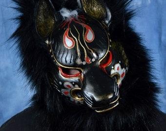 Dark Kitsune Mask