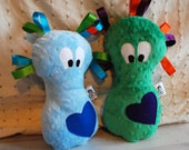 Custom Made Cuddle Monster - Sensory Toy and Comforter