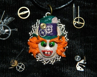 Steampunk Mad Hatter Necklace