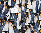King Penguins Illustrated Gift Wrap (5 sheets)