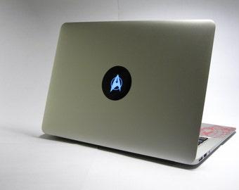 Laptop decal – Laptop Sticker – Macbook Pro decal – Macbook Air decal – Car window – Hipster - Star Trek - Trackpad - Star Fleet