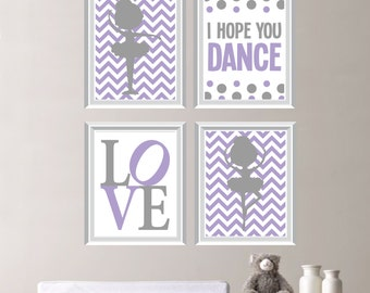 Baby Girl Nursery Art. Ballet Art. Girl Nursery Wall Art. Ballerina Nursery Art. Ballet Nursery Decor. Ballerina Nurser Decor. Dance.  NS337