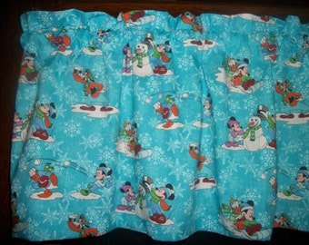 Mickey Mouse Curtain On Etsy A Global Handmade And