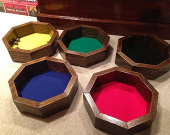 Octagonal Dice Trays