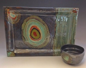 Ceramic 11x14 Rectangle Serving Platter