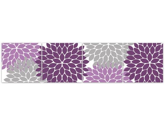 home decor wall art purple bedroom decor purple and grey. Black Bedroom Furniture Sets. Home Design Ideas
