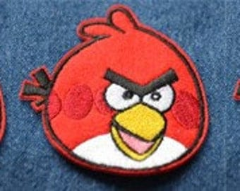 CLEARANCE ! 47 pcs Angry Bird Appliques