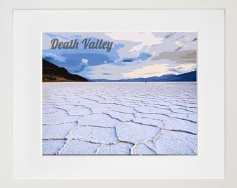 Death Valley National Park Poster Travel Art Print Home Decor (ZB9)