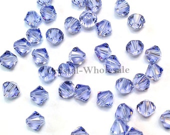 Provence Lavender (283) Swarovski Elements 5328 / 5301 5mm Crystal Xilion Bicone Beads ** FREE Shipping