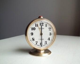 Vintage Soviet Alarm Clock, Home decor, 1970s