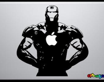 Adhesive sticker for Macbook Pro-IRON MAN-