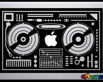 Adhesive sticker for Macbook Pro-DEEJAY-2