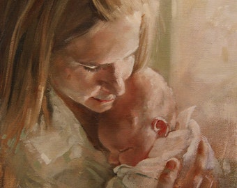 Custom Oil Painting, 8x10, On Gallery Wrapped Canvas