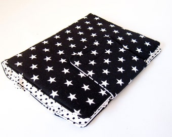"eBook-Reader-Cover, eBook-Reader-Case ""Black Star"", e.g. for Kindle and Sony Reader"