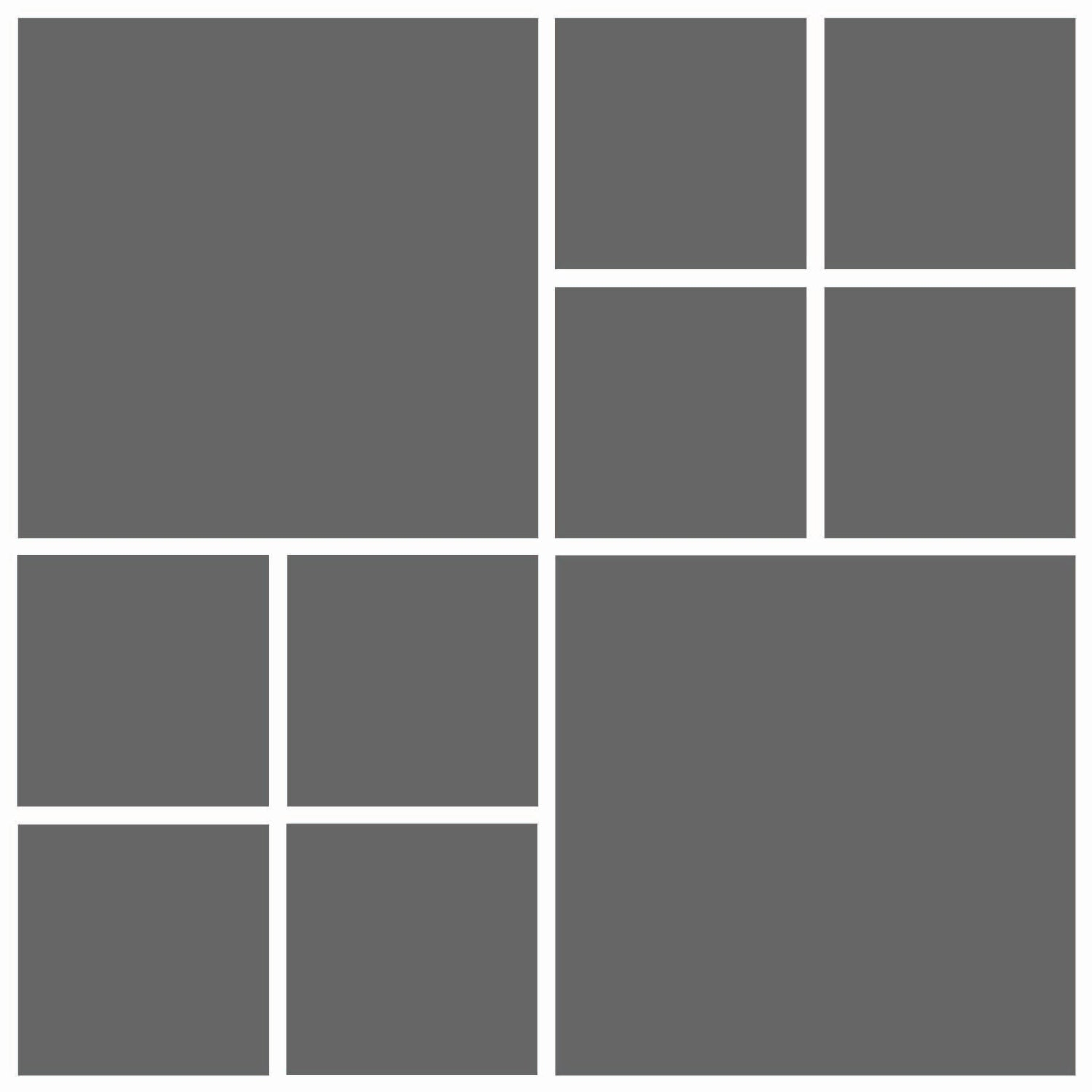 Instant Download- 12x12 Storyboard Photographers Template Digital ...