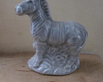 red rose tea wade zebra figurine
