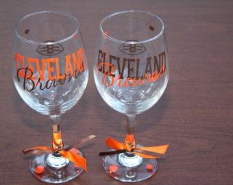 Cleveland Browns Glassware