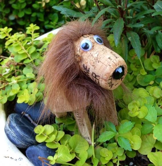 Cork Animals: Items Similar To Lion Wine Cork