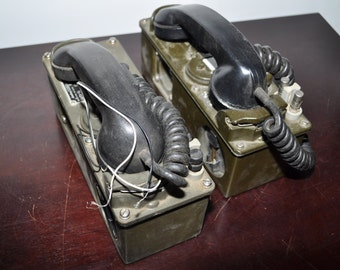 TA-43 Signal Corps Military Phones