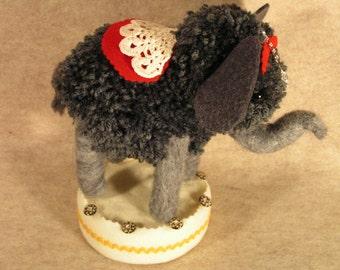Wonderfully Cute Circus Pom Pom Elephant